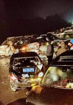 100 xe đâm liên hoàn tại Trung Quốc, hơn 50 người thương vong