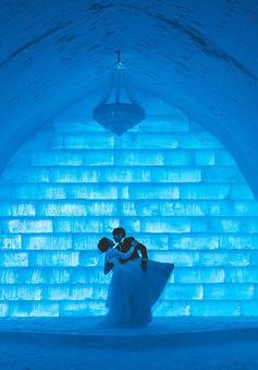 Thánh đường băng- nơi tổ chức lễ cưới lãng mạn nhất thế giới