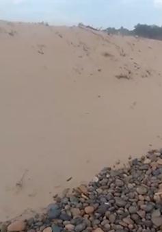 Bình Thuận lập đoàn chuyên gia đánh giá hiện trạng bãi đá 7 màu