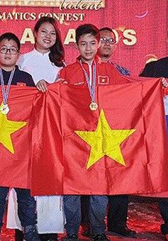 Việt Nam đạt thành tích cao tại cuộc thi Tìm kiếm tài năng Toán học quốc tế (ITMC) 2019