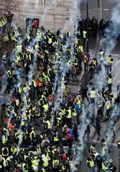 Pháp cho phép cảnh sát dùng súng bắn đạn cao su để giải tán biểu tình