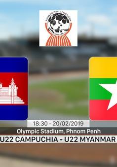 VIDEO: Highlight trận đấu U22 Campuchia 2-0 U22 Myanmar
