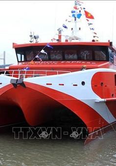 Tàu cao tốc Vũng Tàu - Côn Đảo gặp sự cố
