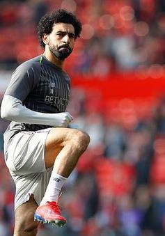 Đi tắm sớm ở trận gặp Man Utd, Salah lỡ cơ hội lập cột mốc ghi bàn lịch sử ở Premier League