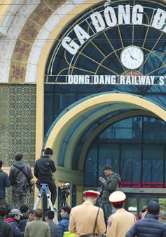 Có gì trong ga Đồng Đăng khi Chủ tịch Kim Jong-un chưa đến?