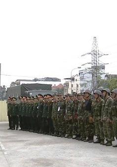 Quân đội sẵn sàng các phương án bảo vệ Hội nghị thượng đỉnh Mỹ - Triều