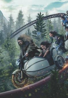 """Ấn tượng với tạo hình tàu lượn siêu tốc """"Harry Potter"""""""