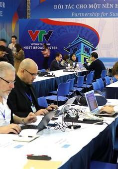 Phóng viên nước ngoài ấn tượng với cơ sở vật chất tại IMC của Hội nghị Thượng đỉnh Mỹ - Triều lần 2