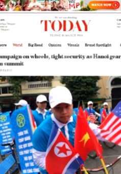 Mạng xã hội tràn ngập hình ảnh Việt Nam những ngày Hội nghị Thượng đỉnh Mỹ - Triều Tiên