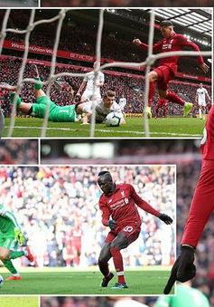 VIDEO tổng hợp diễn biến Liverpool 4-2 Burnley (Vòng 30 Ngoại hạng Anh)