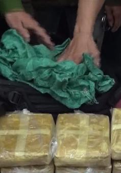 Triệt phá đường dây ma túy xuyên quốc gia