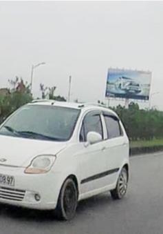 Xác định lái xe đi ngược chiều trên cao tốc Hà Nội - Thái Nguyên