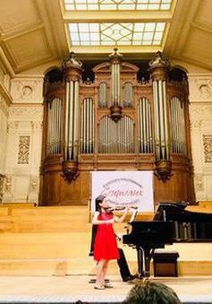 Nguyễn Nguyên Lê giành giải Nhất cuộc thi Violin quốc tế tại Bỉ