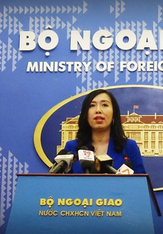 Việt Nam phản đối Đài Loan diễn tập bắn đạn thật ởđảo Ba Bình