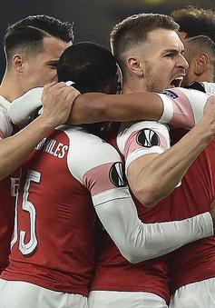 Kết quả lượt về vòng 1/8 Europa League: Arsenal* 3 - 0 Rennes, Dynamo Kyiv 0 - 5 Chelsea*, Inter 0 - 1 Eintracht Frankfurt*...