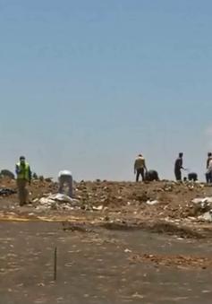 Rơi máy bay Ethiopia: Gia đình nạn nhân nhận 1kg đất ở hiện trường