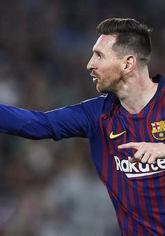 Danh hiệu Giày vàng châu Âu khó tuột khỏi tay Messi
