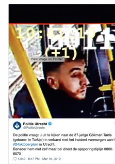 Đã xác định được nghi phạm vụ nổ súng ở Hà Lan