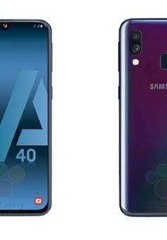 Galaxy A40 sẽ trang bị màn hình vô cực và camera kép?