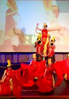 Sinh viên Việt Nam tại trường RUDN quảng bá văn hóa với bạn bè quốc tế