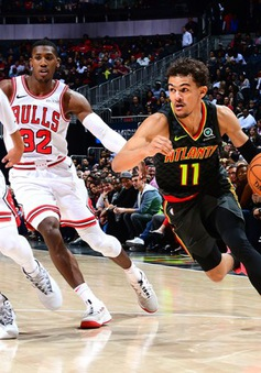 Chicago Bulls & Atlanta Hawks tạo ra trận đấu lịch sử