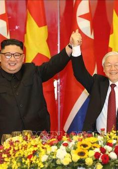 KCNA: Chủ tịch Triều Tiên Kim Jong-un hy vọng cải thiện quan hệ với Việt Nam trong mọi lĩnh vực