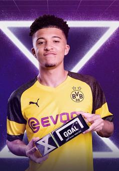 """""""Măng non"""" Dortmund giành giải sao 10X xuất sắc nhất 2019"""