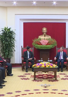 """""""Việt Nam sẵn sàng chia sẻ kinh nghiệm phát triển kinh tế với Lào"""""""