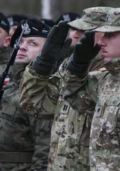 Lính Mỹ tới Ba Lan tham gia tập trận chung