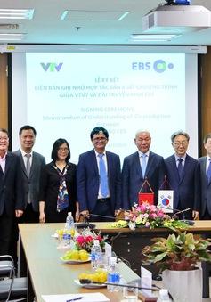 Đài THVN và EBS đã tiến hành ký Biên bản ghi nhớ hợp tác sản xuất series phim tài liệu