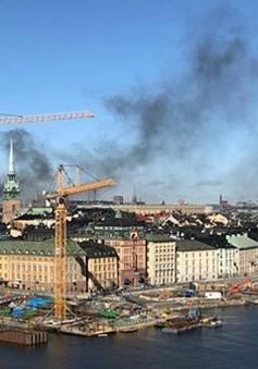 Nổ lớn tại thủ đô Stockholm, Thụy Điển