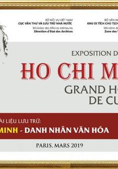 """Tổ chức triển lãm tài liệu """"Hồ Chí Minh - Danh nhân Văn hóa"""" ở trụ sở UNESCO"""