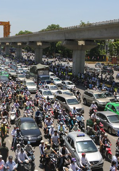 Bộ Giao thông Vận tải ủng hộ đề án cấm xe máy tại Hà Nội, TP.HCM