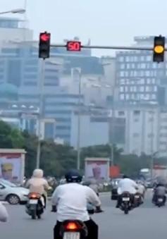 Sẽ tiến hành thay thế đèn tín hiệu giao thông ở thủ đô