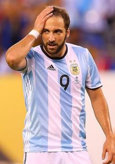 CHÍNH THỨC: Higuain chia tay ĐT Argentina