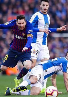 Kết quả bóng đá quốc tế sáng 31/3: Manchester United 2 - 1 Watford, Juventus 1 - 0 Empoli, Barcelona 2 - 0 Espanyol