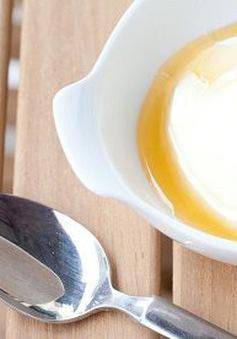Làm đẹp da tại nhà với sữa chua, mật ong