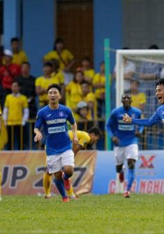 Vượt qua CLB Thanh Hoá, Than Quảng Ninh có trận thắng đầu tiên!