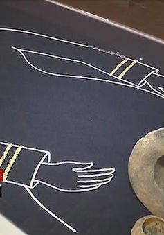 Tìm thấy hàng trăm trang sức bằng vàng trong ngôi mộ của công chúa thời cổ đại