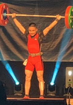 Lực sĩ Cử tạ trẻ Đỗ Tú Tùng xuất sắc giành 3 huy chương vàng, thiết lập 3 kỷ lục thanh thiếu niên thế giới ở Las Vegas, Mỹ