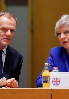 Chủ tịch Hội đồng châu Âu đề xuất EU lùi thời hạn Brexit 1 năm