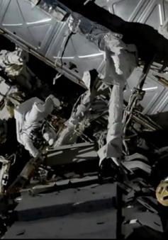 Các nhà du hành vũ trụ trên ISS có cuộc đi bộ ngoài không gian lần thứ ba