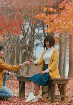 """Choáng ngợp với khung hình đầy lãng mạn tại xứ Hàn của """"Ước hẹn mùa thu"""""""