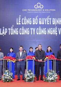 CMC chính thức ra mắt Tổng Công ty Công nghệ & Giải pháp CMC TS