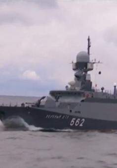 Nga tập trận ở biển Baltic
