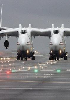 Máy bay lớn nhất thế giới cất cánh