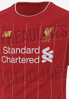 CĐV Liverpool ấn tượng với mẫu áo được cho là của CLB ở mùa tới