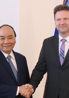 Thủ tướng Nguyễn Xuân Phúc hội kiến Chủ tịch Hạ viện Czech