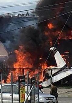 Chile: Máy bay hạng nhẹ rơi trúng nhà dân, 6 người chết