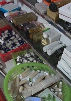 Phát hiện cơ sản sản xuất hàng nghìn sản phẩm mỹ phẩm giả tại TP Vinh